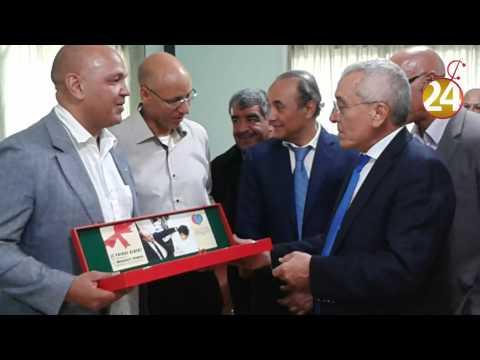 قنصل موناكو أثناء زيارته لتيزنيت