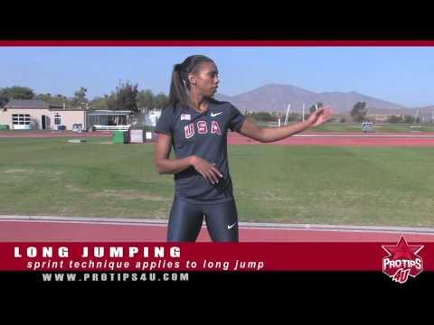 Track & Field Tips: Long Jump Technique with Brianna Glenn
