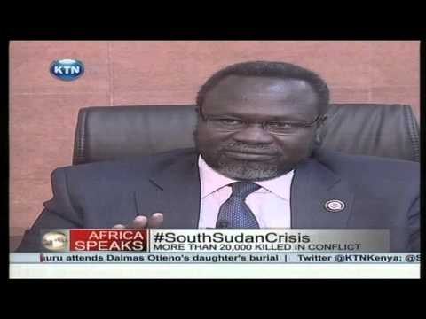 Dr. Riek Machar explains how Uganda participated in South Sudan's Coup