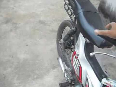 shineray 50cc cortando giro