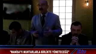 Ali Arslan Manisa'yı Muhtarla Yöneteceğiz