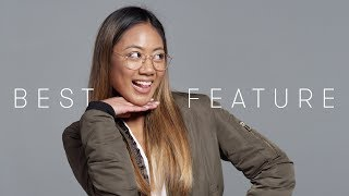 100 People Tell Us Their Best Feature | Keep it 100 | Cut