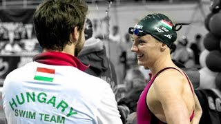 Katinka Hosszu Teams with Husband Tusup for Success: Gold Medal Minute Presented Swimoutlet.com