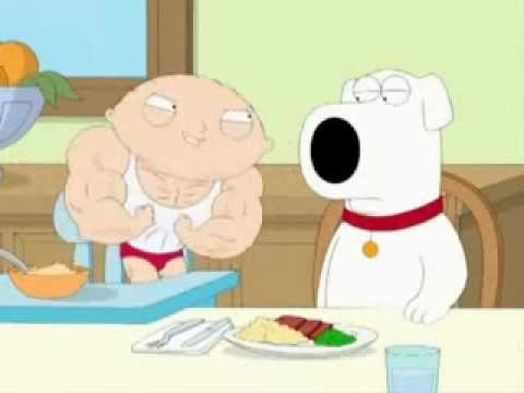 stewie on steroids full episode youtube