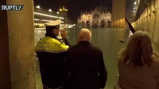 إيطاليا.. البندقية تغرق بفيضان هو الأكبر
