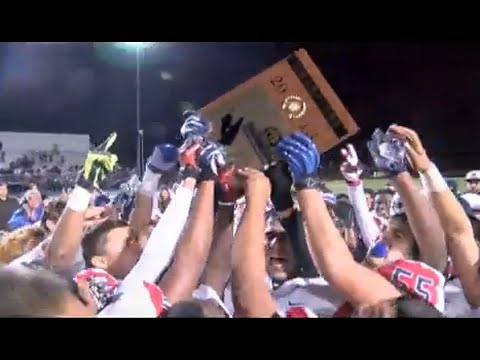 FOOTBALL: CIF-SS Central and East Valley Division Title Games