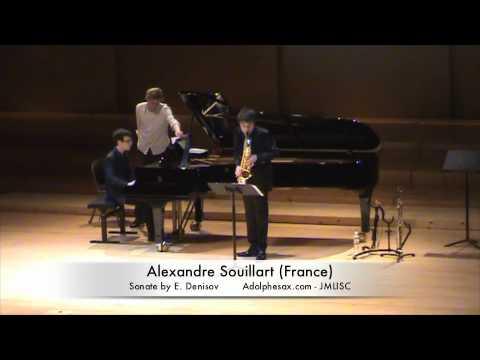 3rd JMLISC Alexandre Souillart (France) Sonate by E. Denisov
