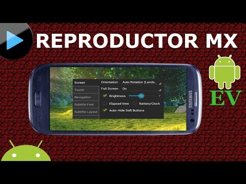 El mejor REPRODUCTOR de VIDEOS android | Reproductor MX | Android Evolution