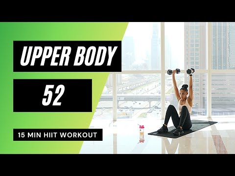 Upper Body Workout with Dumbbells at Home (Toned Arms)  - 71