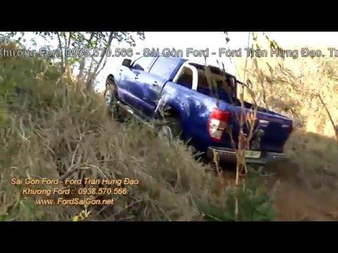 Cách sử dụng 2 cầu trên Ford Ranger