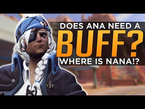 Overwatch: Does Ana NEED a BUFF!?