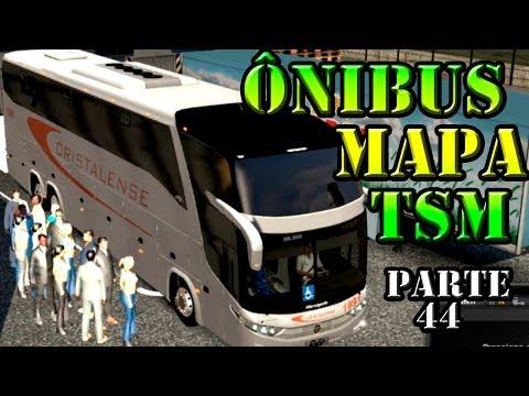Euro Truck 2: Ônibus G7 1600 pelo mapa TSM (parte 44)