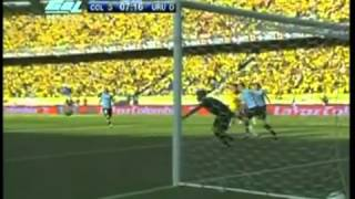 Colombia Vs Uruguay (4-0) Eliminatorias Brasil 2014 07/09