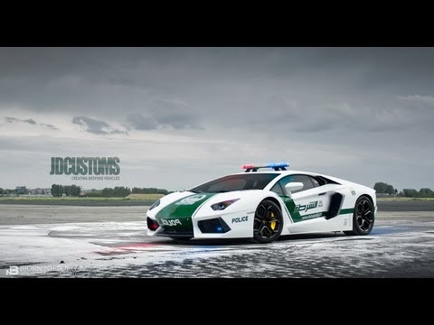 JD Customs TV - Lamborghini Aventador Dubai Police