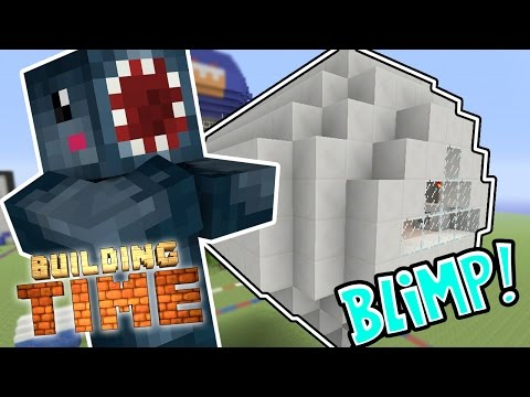 Minecraft Xbox - BLIMP!! - Building Time! [#52]