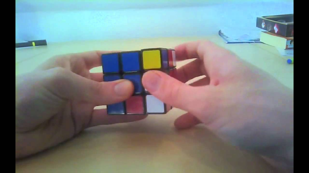 how to solve a 2x2x2 for begginers