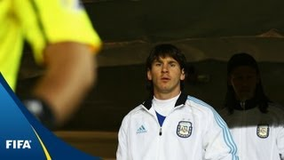 Messi's only Man of the Match in 2010