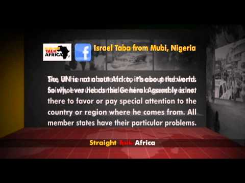 Straight Talk Africa Social Media Segment on UNGA President Elect Controversy