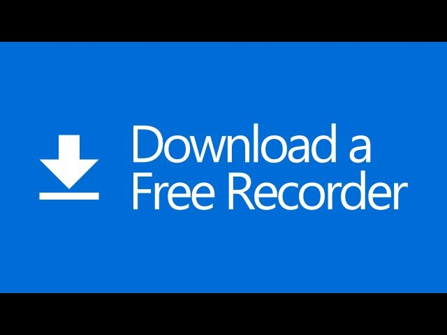 How To Download A Free Recorder