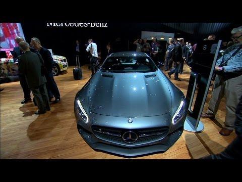 Car Tech - 2014 LA Auto Show: Mercedes-AMG GT S