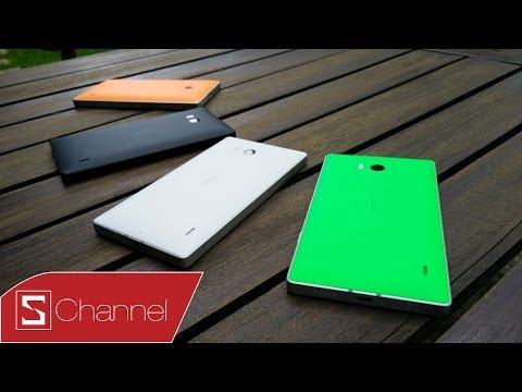 Trên tay Lumia 930, viền kim loại, màn hình AMOLED...
