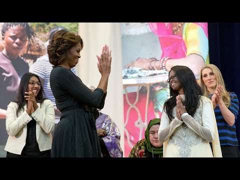The First Lady Honors International Women of Courage