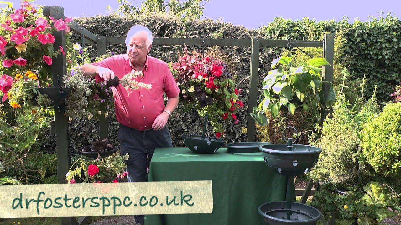 Youtube Hanging Flower Baskets : Dr fosters hanging baskets