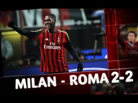 AC Milan I Milan-Roma 2-2 Highlights
