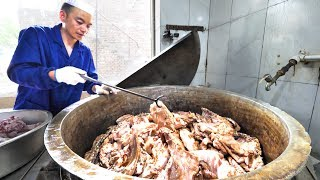 WOWWW!!! EXTREME 500 KG Lamb TUB + INSANE Street Food in China | Going DEEP for Chinese Street Food!