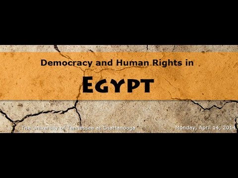 Democracy and Human Rights in Egypt