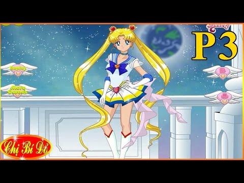 Trò chơi Hoạt hình Nhật Bản - Bí đỏ chọn trang phục cho thủy thủ mặt trăng - Phần 3