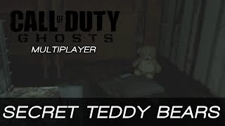 Call of Duty: Ghosts - Secret Teddy Bears in Freight, Flooded and Siege