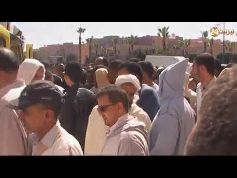 جنازة الدكتور إبراهيم التاكي رحمه الله