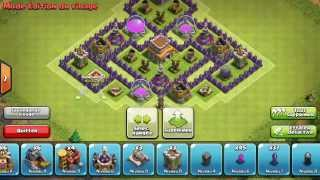 Clash Of Clans Meilleur Village HDV 8 Avec 4 Mortiers FR