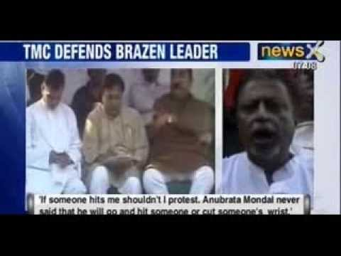 TMC leader Anubrata Mondal spews more threats for Congress workers - NewsX