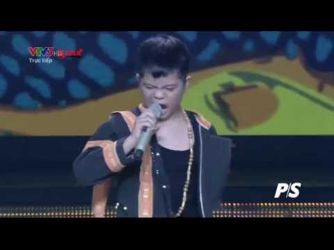 HD] Nguyễn Quang Anh   Chiếc khăn Piêu   Giọng hát Việt nhí   Vòng Liveshow 1   YouTube