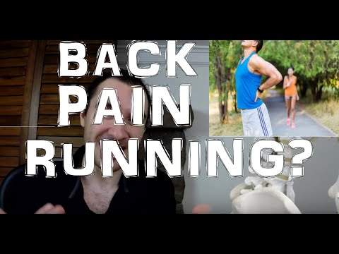 Get Lower Back Pain When Running Or After?  Workout The Core!