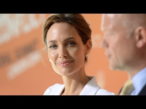 Angelina Jolie & William Hague Opened Sexual Violence Summit - (June 13, 2014)