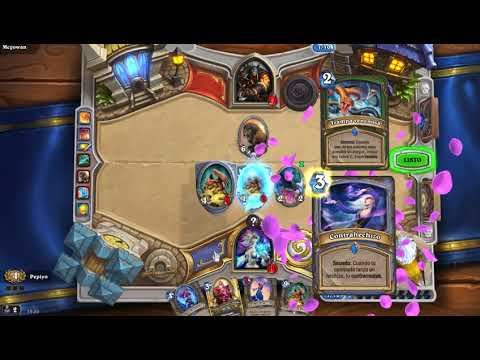 legendary Cromi in arena hearthstone 5-2
