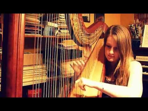 Heart Attack - Demi Lovato (Harp Cover)