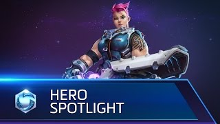 Heroes of the Storm - Zarya Spotlight