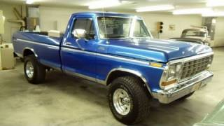 1979 Ford F250 4x4 Custom Lifted Pick-up Very Nicely
