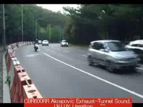 600RR Akrapovic Exhaust Tunnel Sound