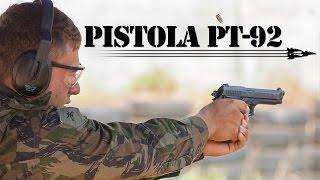 O Programa FAB & Indústria de Defesa mostra, nesta edição, como são fabricadas as pistolas PT 92 utilizadas pela Força Aérea Brasileira (FAB). Seu acabamento é diferenciado com: cano oxidado, ferrolho teniferizado preto. Você vai ver também, como a tecnologia de ponta é uma grande aliada na produção dessas armas.