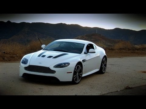 Aston Martin V12 Vantage - Pure Sound Test Drive With Rattle Snake