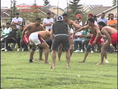 kabbadi cup Calgary - Ambi sports club 2010 - PART 01