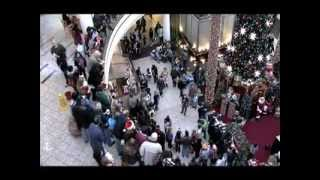 Flash Mob Christmas Carol At Mall MUST SEE!