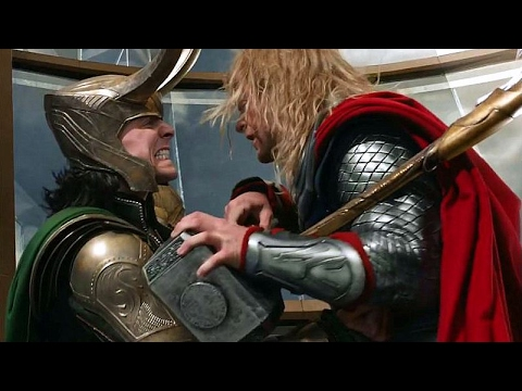 Thor vs Loki - Fight Scene - The Avengers | Movie CLIP HD
