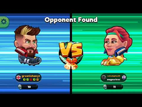 """MOST FUNNY FOOTBALL  GAME """"HEAD BALL 2"""" WITH RUNNING HINDI COMMENTARY"""