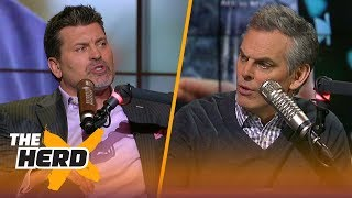 Mark Schlereth talks Patriots and Eagles after Super Bowl LII | THE HERD